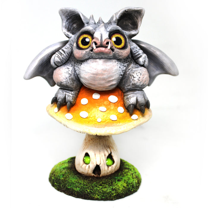 Night of Moonbat - Clayworks by Jen