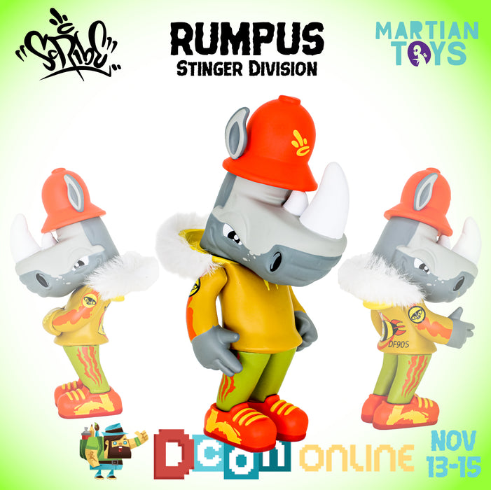 Rumpus TEQ: Stinger Division edition by Scribe x Quiccs x Martian Toys