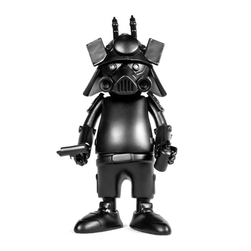 "DR76 ALLBLK 6"" DIY Vinyl Figure  by  Dragon76  x  Martian Toys"