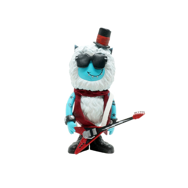 Fuzz the Yeti Rockstar by DexDexign