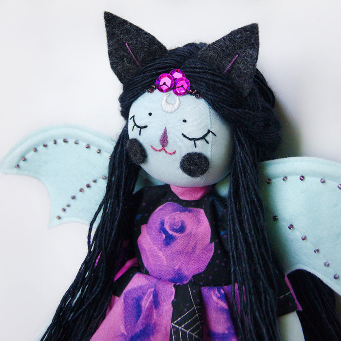 PLUSHtheLIMITS  -  Gothic Bat Queen  by  NightlyMade