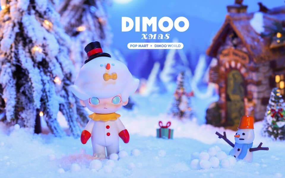 Dimoo Xmas by Dimoo World x POP Mart