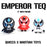 Emperor Teq Jaspar 3Pack  by  Quiccs  x  Martian Toys