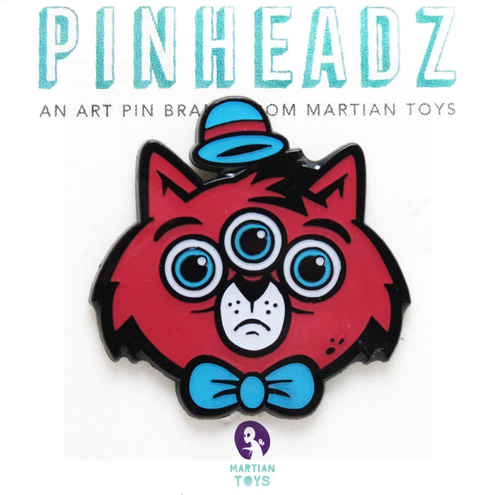 PinHeadz - Ekiem - 3 Eyed Cat
