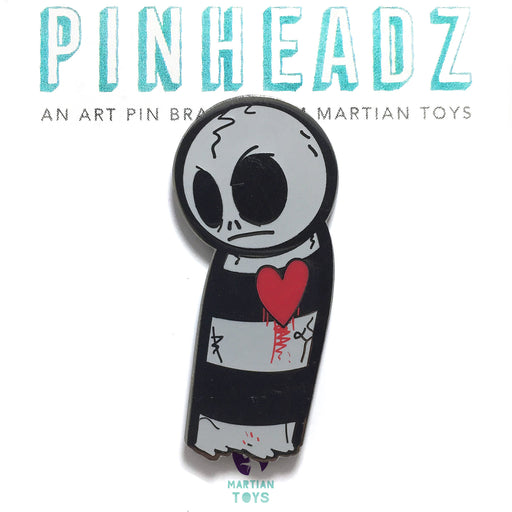 PinHeadz - Davemarkart - Fragile Am I Pin