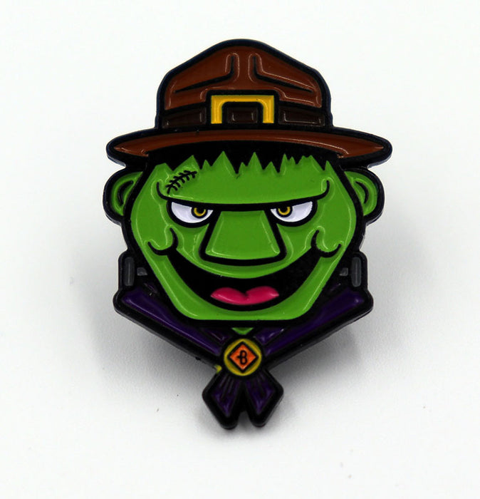MonsterBeachParty  -  Frankenscout Enamel Pins by Bruckaroni