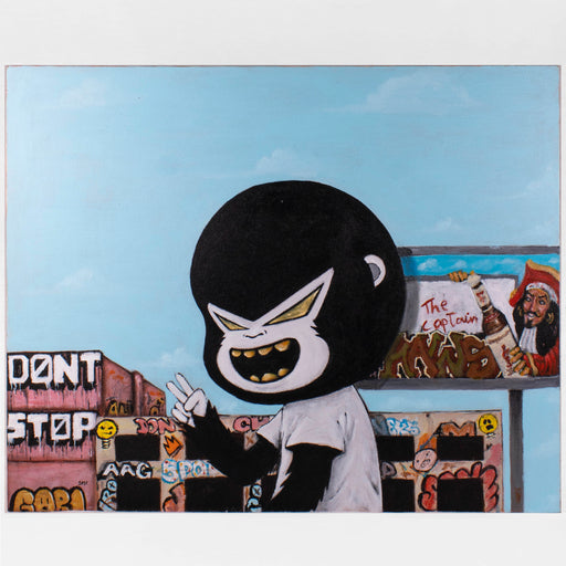 "Gori - ""Don't Stop"" Painting"