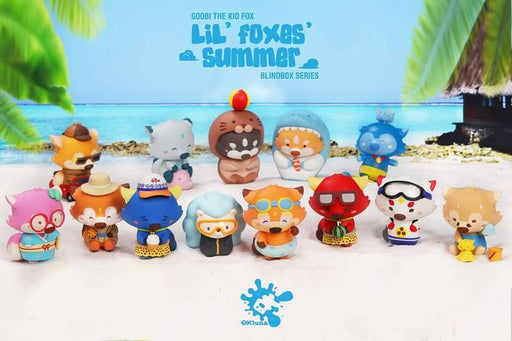 Goobi the Kid Fox – Lil' Foxes Summer series by OK Luna x POP MART