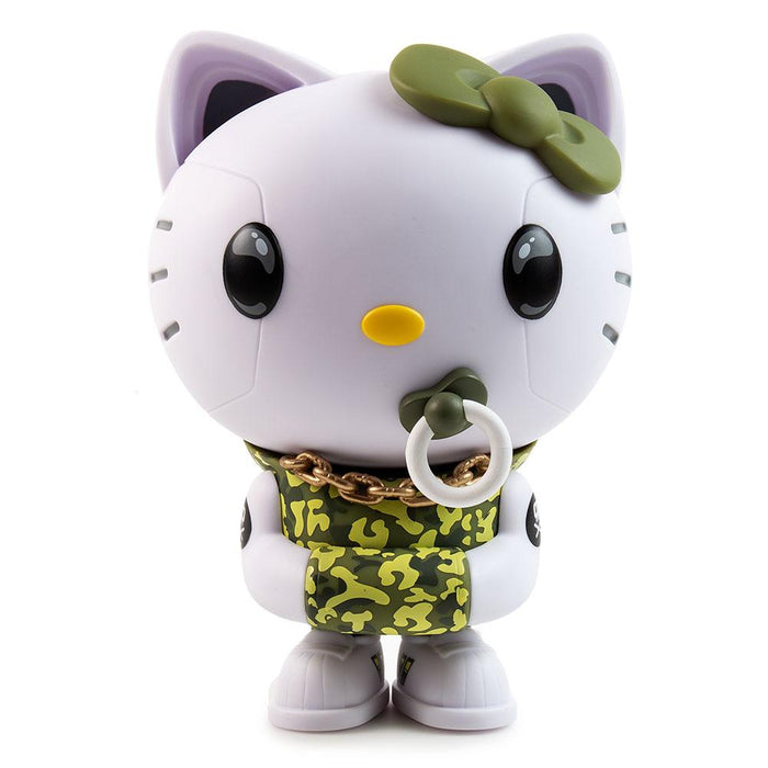 Hello Kitty Green Camo Exclusive  by Quiccs x IamRetro x Kidrobot