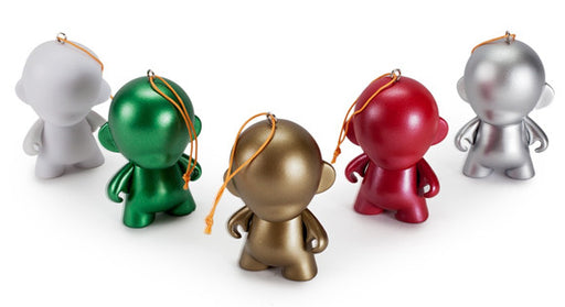 "Micro Munny 2.5"" DIY Holiday Ornaments"