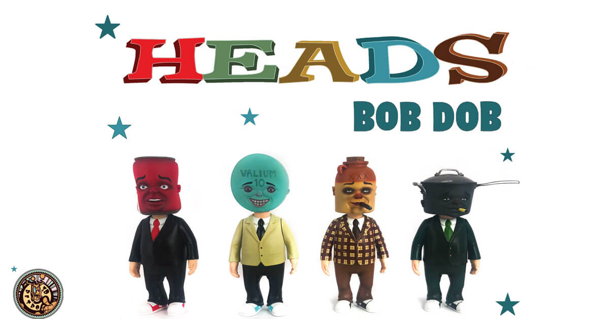 HEADS by Bob Dob  x  3DRetro