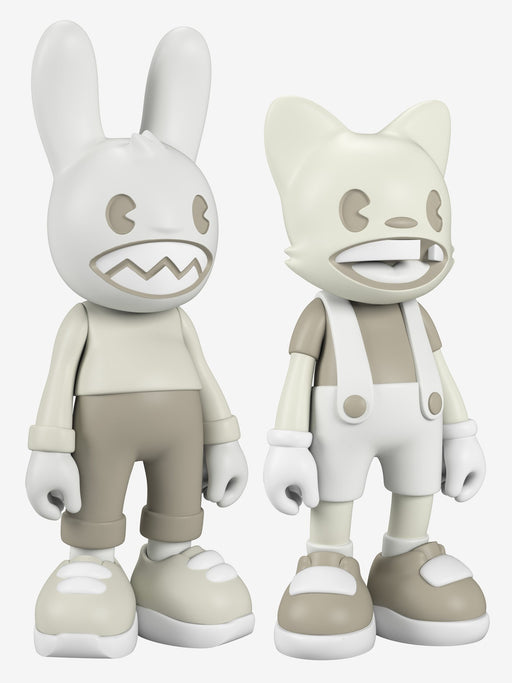 "Lil' Helpers - Guggi & Janky ""GLOW"" Set by Superplastic"