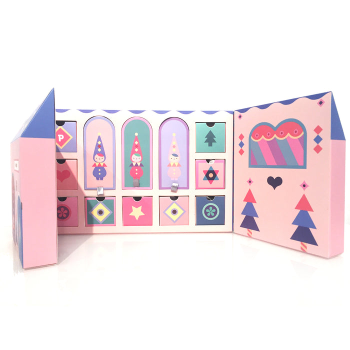 Pucky Xmas Babies Christmas Express.Collector's Set  By Pucky x POP MART
