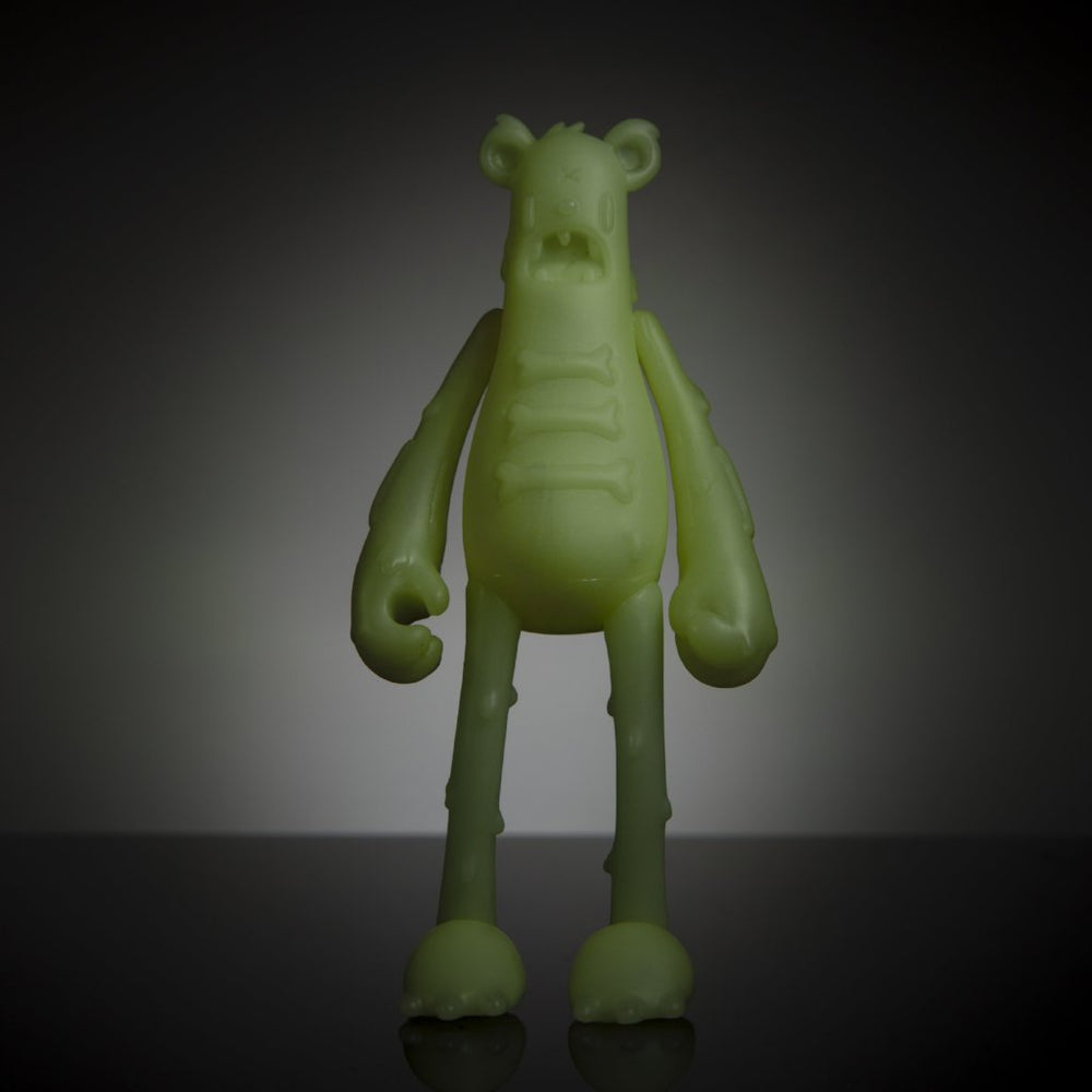 Dead Bear GID Blank by Nicky Davis x Martian Toys