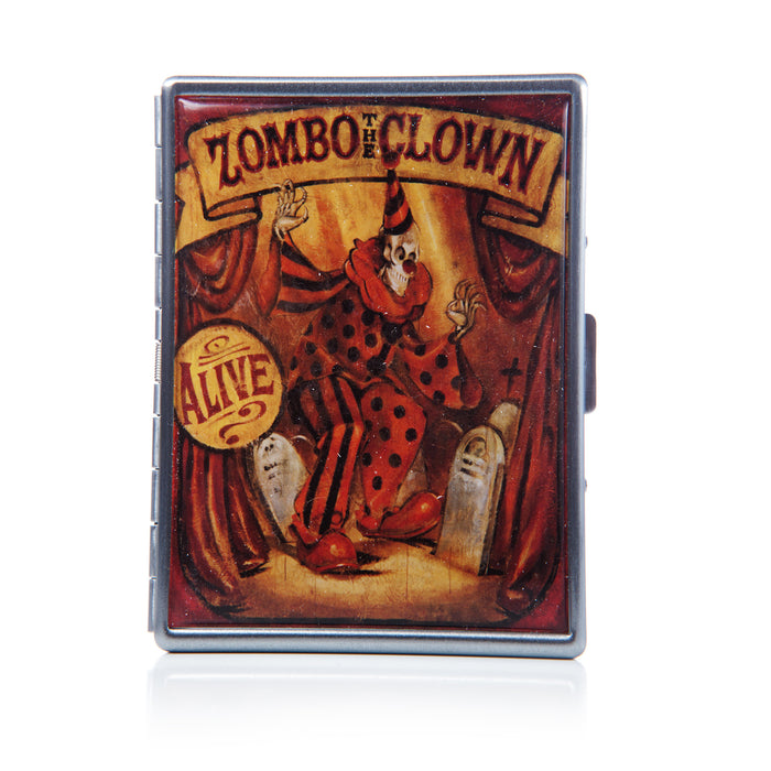 Theatre Bizarre Zombo the Zombie Clown Cigarette Case