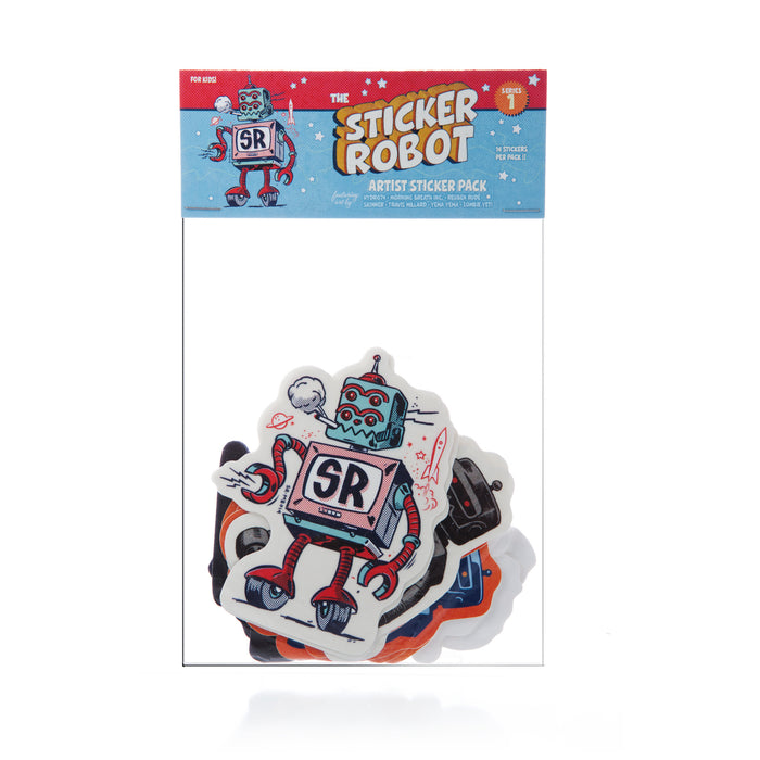Sticker Robot Artist Pack - Series 1