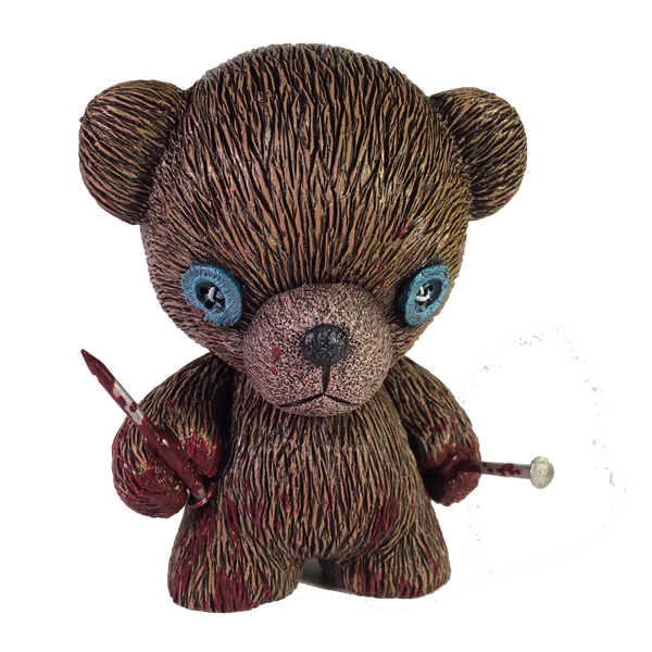 Huggly Bear by ShadowWorkArt