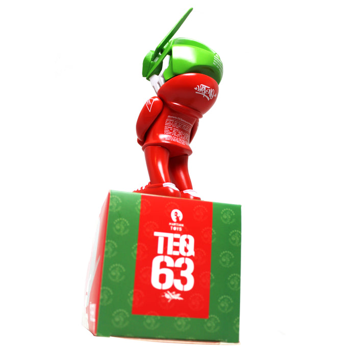 SIGNED Sketracha63 TEQ63  by  Sket-One x Quiccs  x  Martian Toys