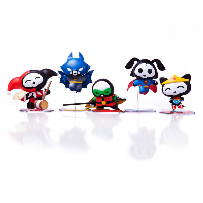 Skelanimals x DC Comics Vinyl Mini Figures