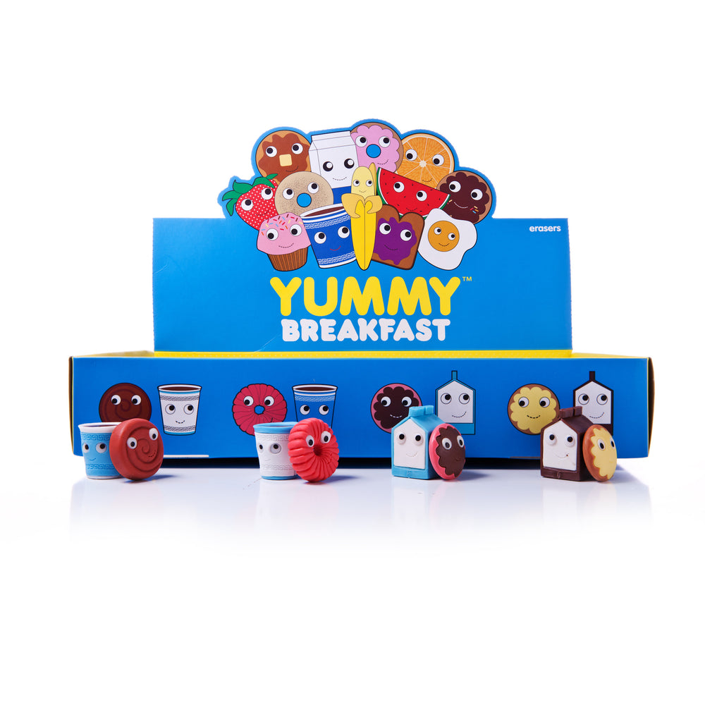 YUMMY WORLD 2-Pack Breakfast Erasers