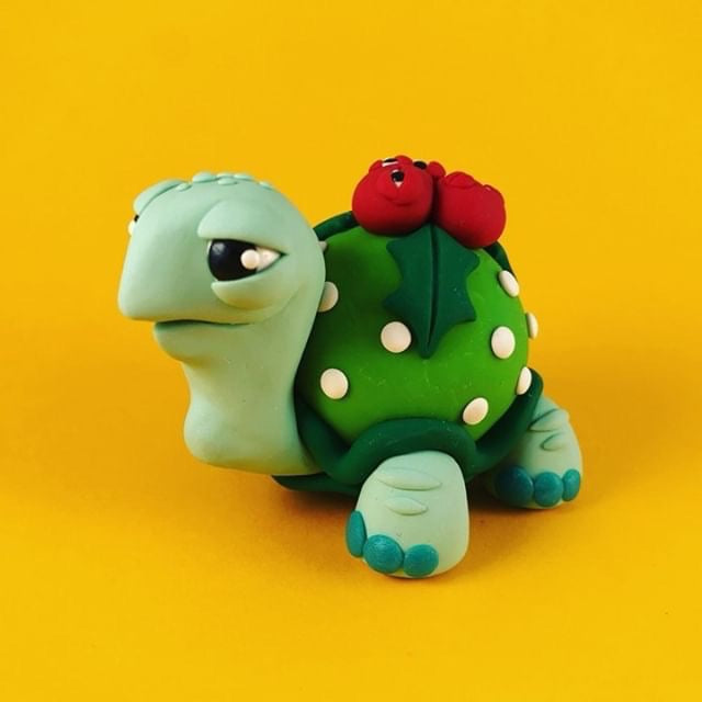 SugarPlumShow  -  Tiny Turtle Tim  by  Macy McKenny