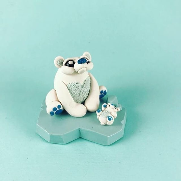 SugarPlumShow  -  Polar Bears  by  Macy McKenny