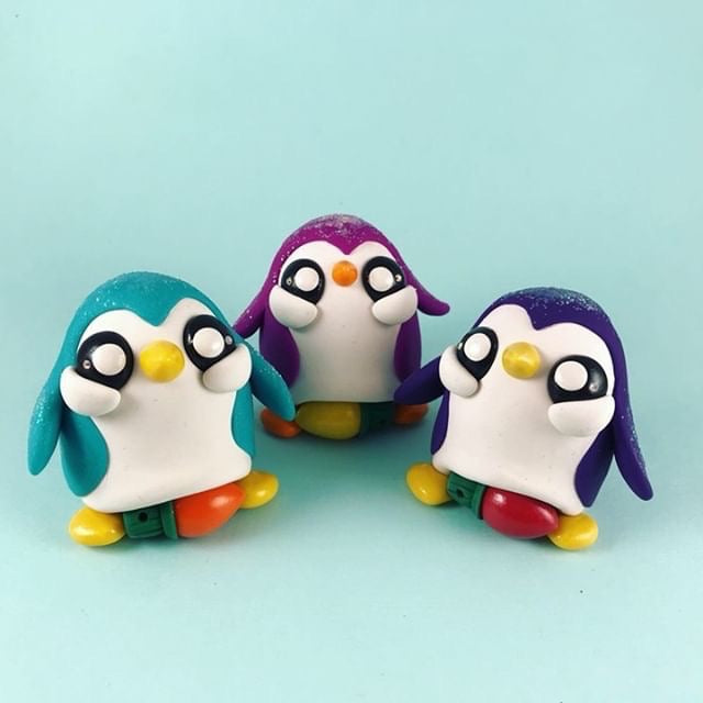 SugarPlumShow  -  Twinkubation Penguins  by  Macy McKenny