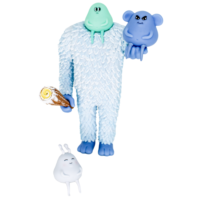 Symbiosis YETI by Sad Salesman (Martian Toys Exclusive)
