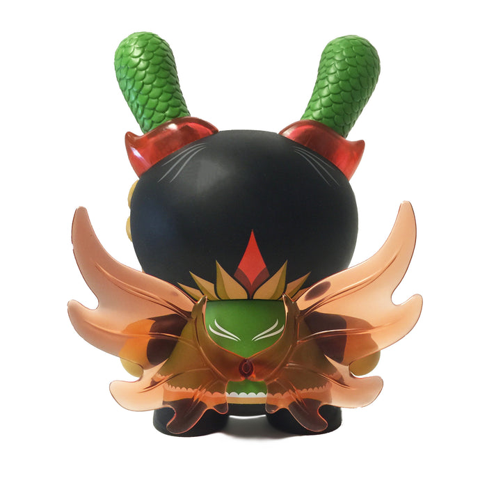 "Imperial Lotus Dragon 8"" Dunny (Grey)"