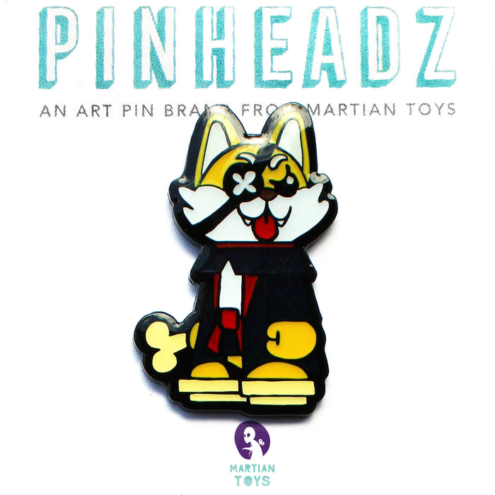 PinHeadz - Javier Jimenez - Stick Up Wolf Pin
