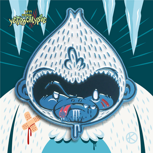 Snowflake the Yeti Enamel Pin by KRONK