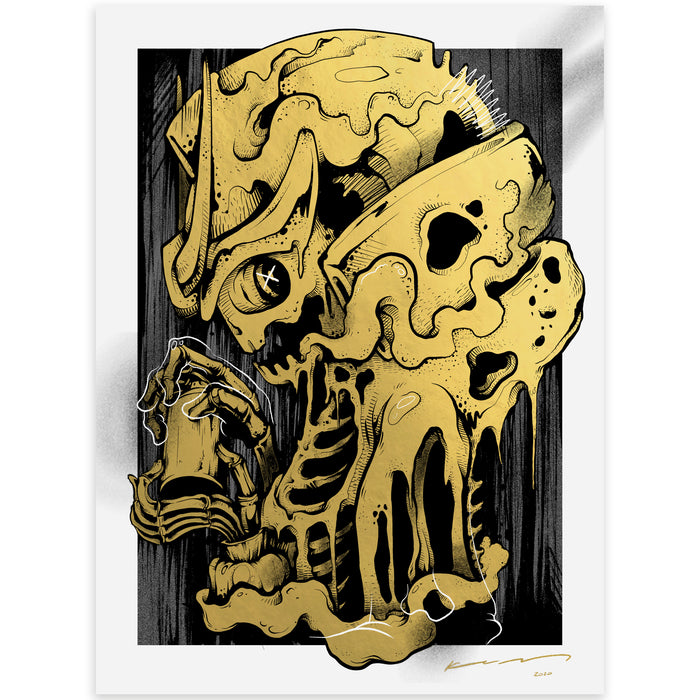 Mr. KumKum Ravager Foil Print  by  Mr.KumKum  x  Quiccs  x  Martian Toys