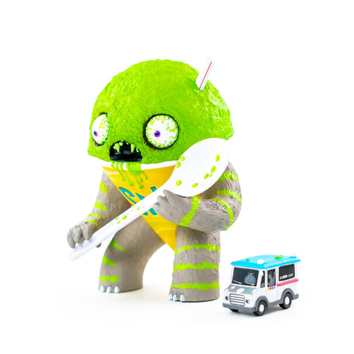 Abominable Snow Cone LIME Flavored  by Jason Limon  x  Martian Toys