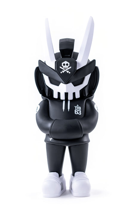 "MEGATEQ 12""  OG Core BLK & Ghost Edition  by  Quiccs x Martian Toys"