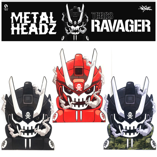 METALHEADZ  Ravager  by  Quiccs x Martian Toys
