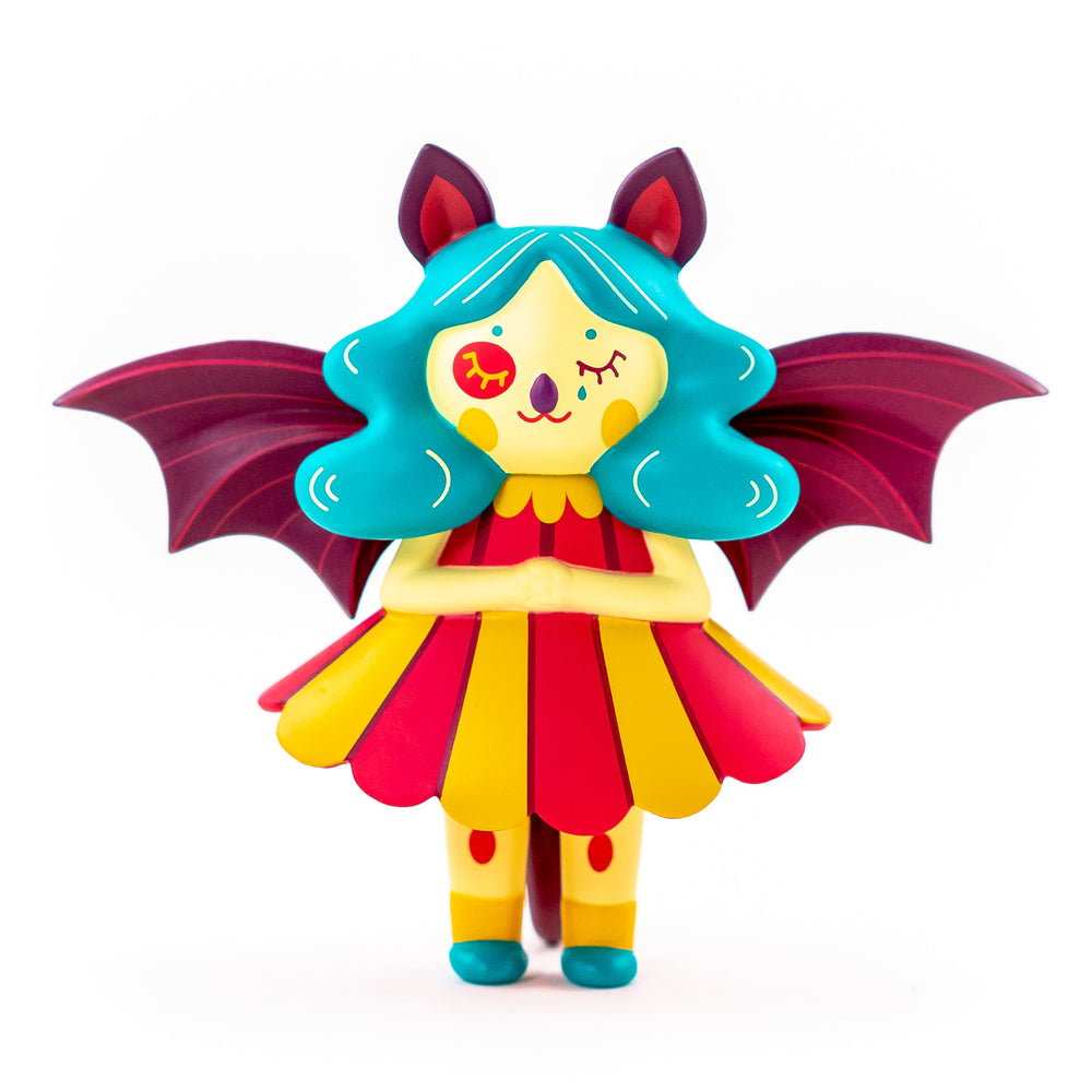 Midnight Moon Bat Carnival  by  Nightly Made  x  Martian Toys
