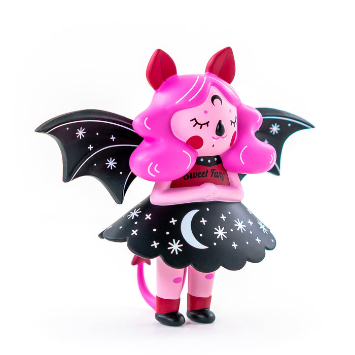 Midnight Moon Bat Sweet Fang  by  Nightly Made  x  Martian Toys