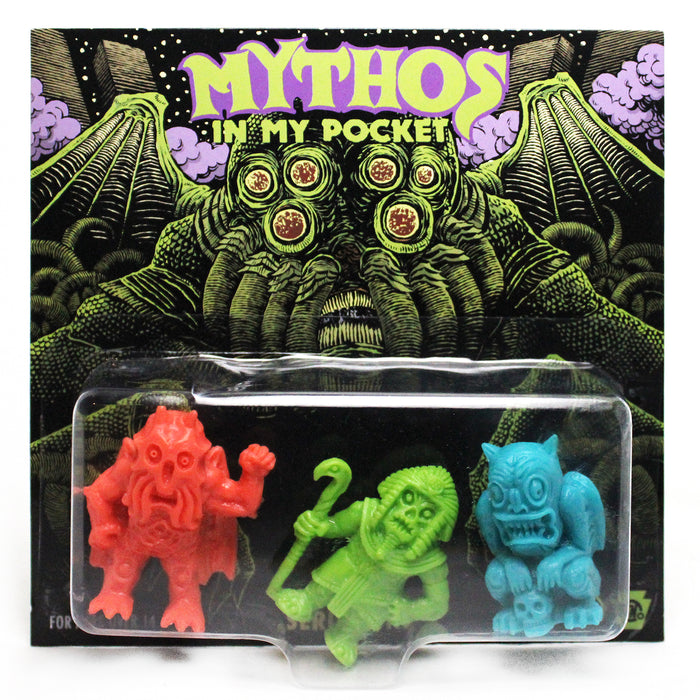 Mythos in My Pocket Series1 MULTI COLOR  by  Sam Heimer x HH Toy Co.