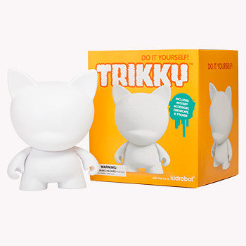 Trikky DIY Munnyworld by Kidrobot