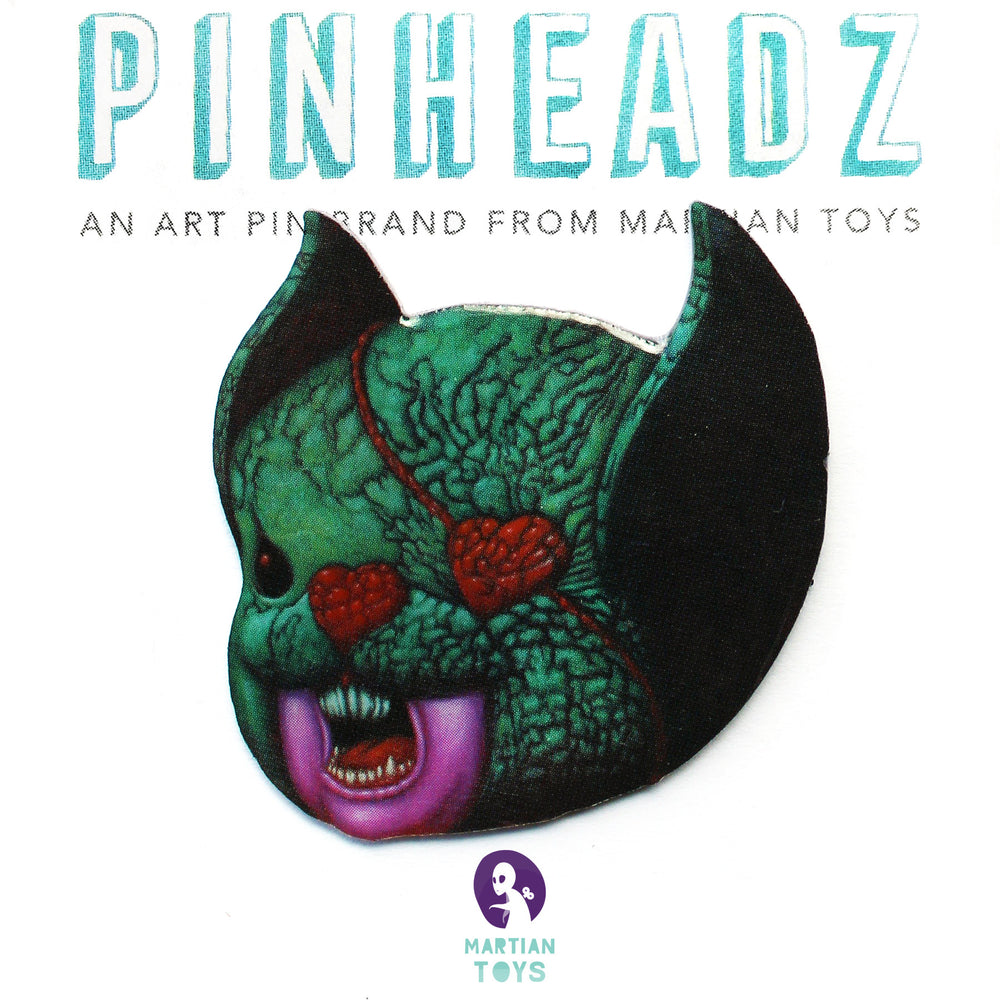 PinHeadz - Malojo - Monster Head Pin