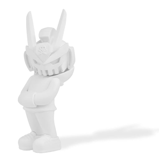 TEQ63 DIY 6-INCH BLANK WHT  by  Quiccs  x  Martian Toys