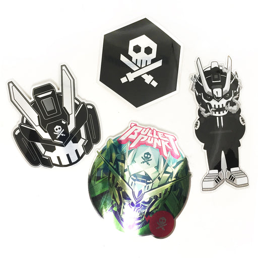 Quiccs Metallic Stickers by Martian Toys