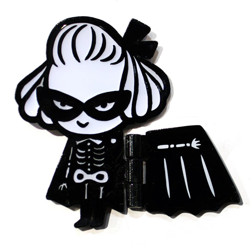 PinHeadz - Mizna Wada - Skeleton Girl Hinge Pin