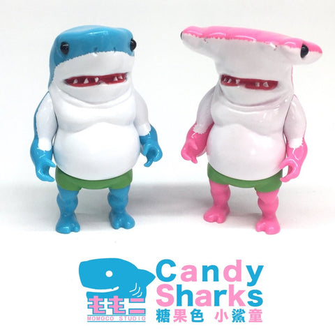 MonsterBeachParty  -  Candy Sharks by Momoco Studios