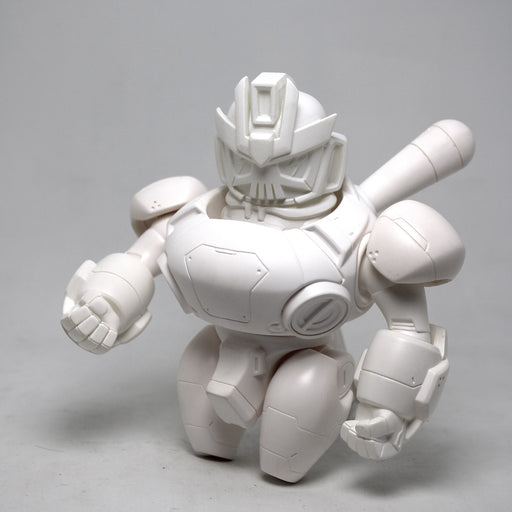 NANO TEQ NUTBUSTER Blank White DIY  by  Quiccs x Devil Toys