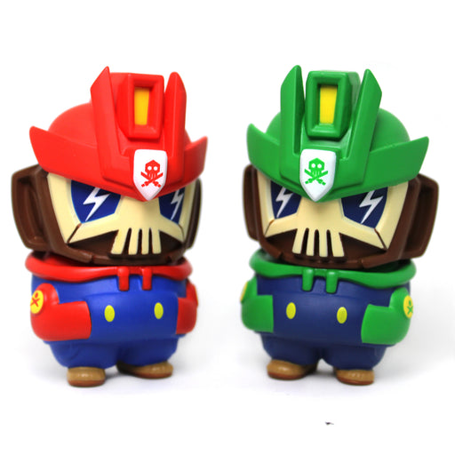 "Super Nano Bros  3"" NanoTeq  Martian Toys Exclusive  by Quiccs x Devil Toys"