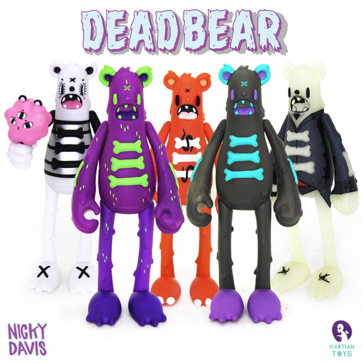 Dead Bears  by  Nicky Davis  x  Martian Toys