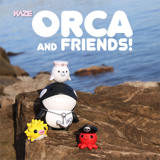 Orca & Friends OG by Kaze Tee  x  Martian Toys