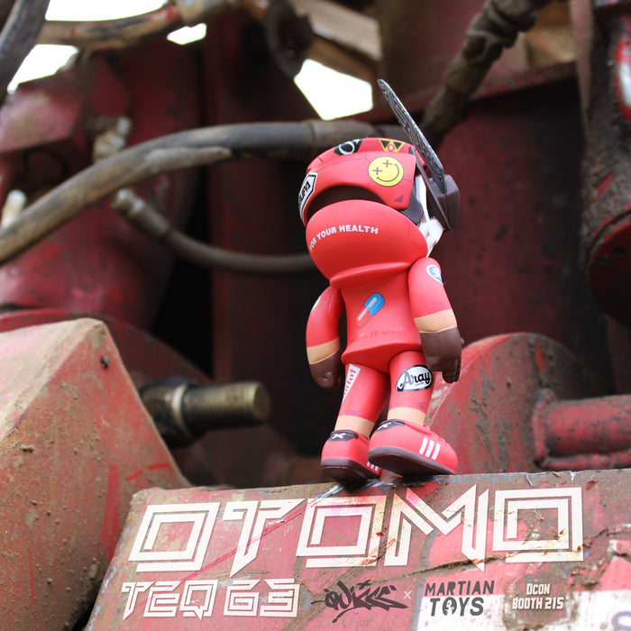 "OTOMO Teq63 6""  by  Quiccs  x  Martian Toys"