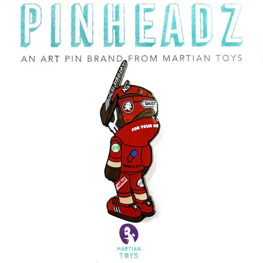 Pinheadz OTOMOTeq63 LOOK BACK  by  Quiccs  x  Martian Toys